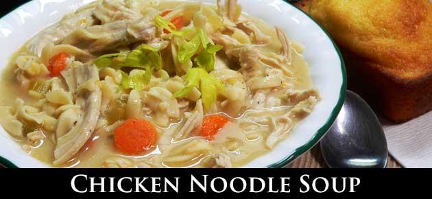 Chicken Noodle Soup, slider.