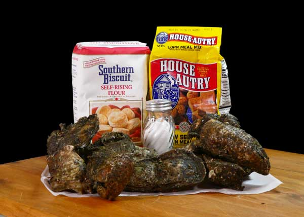 Calabash Fried Oysters, ingredients you'll need.