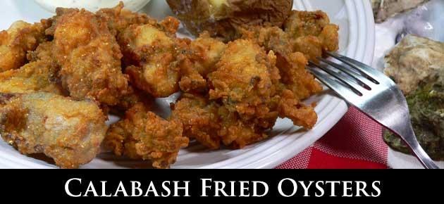 Calabash Fried Oysters, slider.