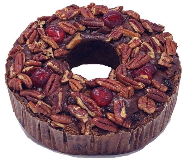 Jane Parker Chocolate Fruitcake, 2 pounder.