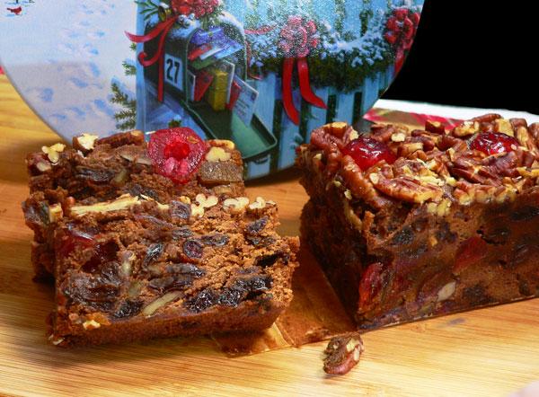 Jane Parker Chocolate Fruitcake, enjoy.