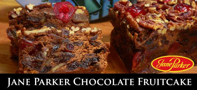Jane Parker Chocolate Fruitcake, slider.
