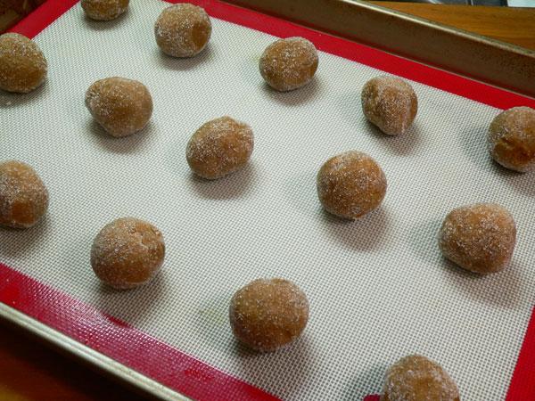 Gingersnap Cookies, space.