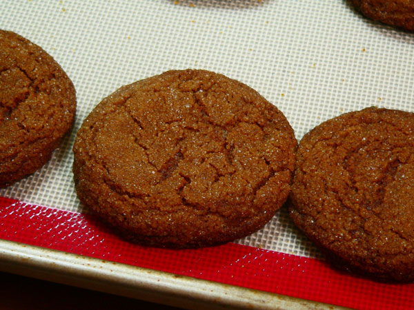 Gingersnap Cookies, cool.
