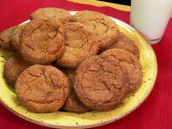 Gingersnap Cookies, enjoy.