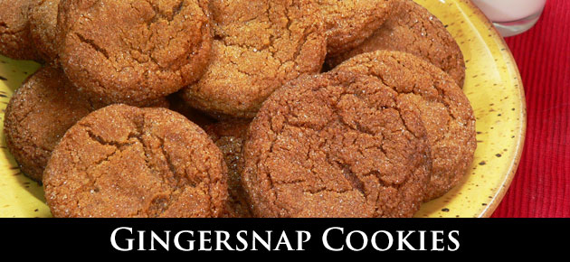 Gingersnap Cookies, slider.