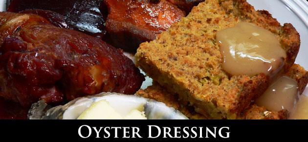 Oyster Dressing, slider.