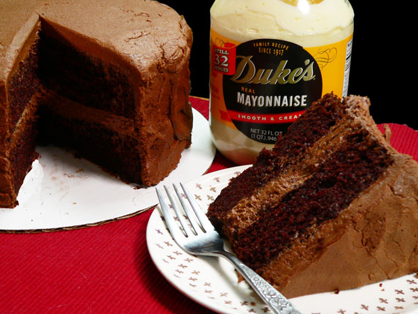 Mayonnaise Cake, enjoy.