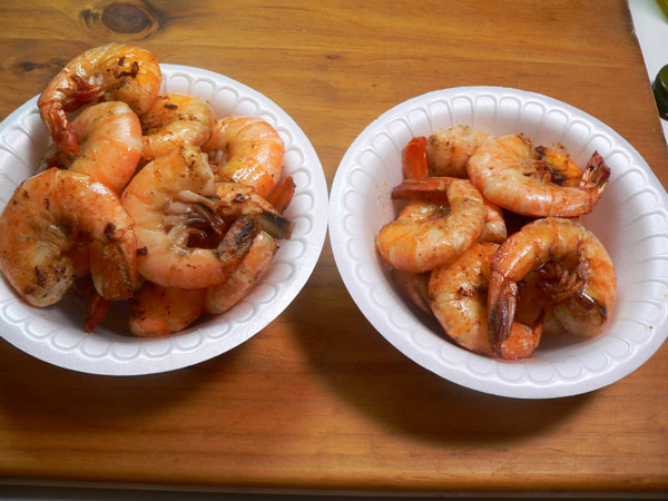 Skillet Shrimp, cook in batches.