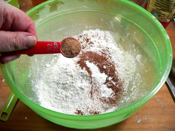 Carrot Cake, add nutmeg.
