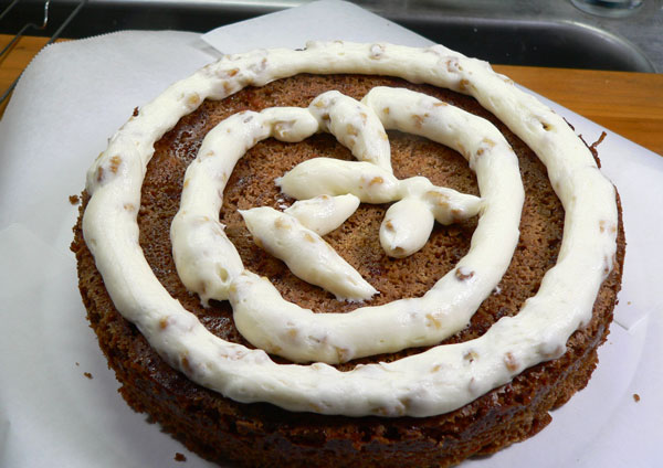 Carrot Cake, add more frosting.