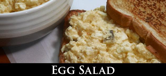 Egg Salad, slider.