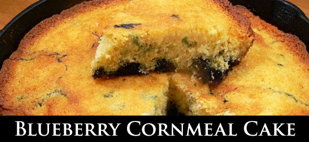 Blueberry Cornmeal Cake, slider.