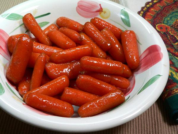 Glazed Carrots, enjoy!