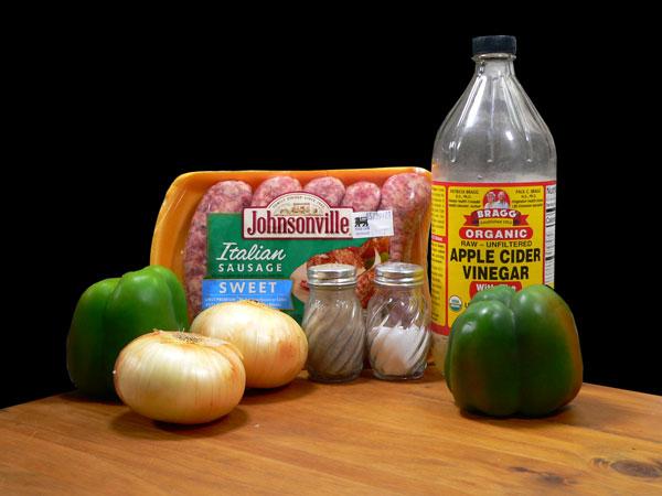 Sausage Dogs, ingredients.