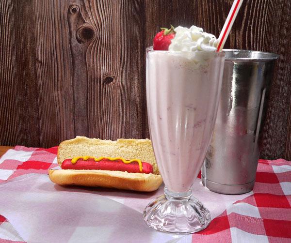 Strawberry Milkshake, enjoy!
