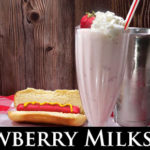 Fresh Strawberry Milkshake Recipe