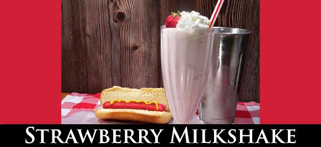 Strawberry Milkshake, slider.