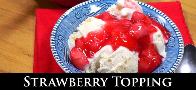 Strawberry Topping, slider.