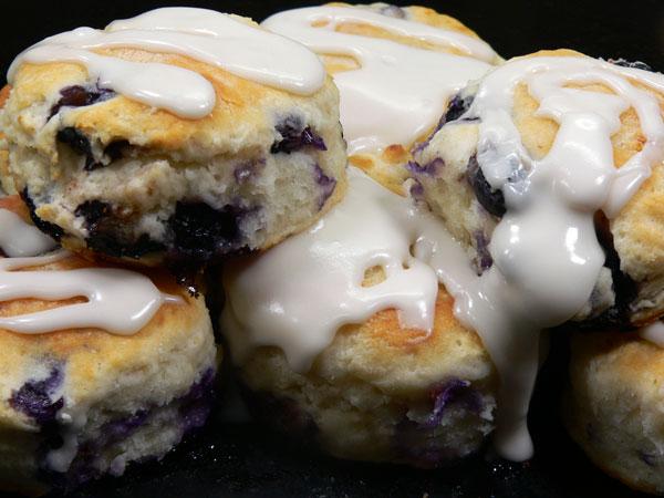 Blueberry Biscuits, enjoy!