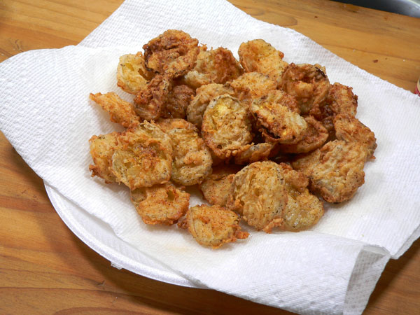 Fried Pickle Chips, remove.