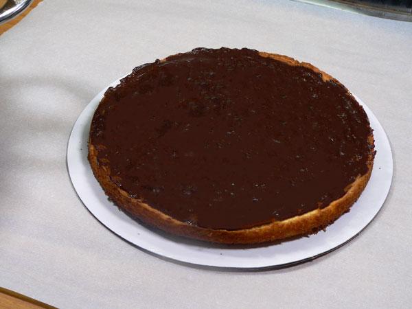 Nine Layer Cake, add icing.