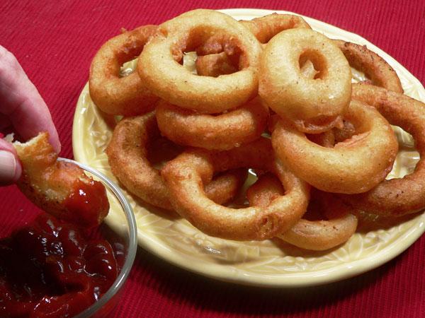Onion Rings, enjoy.