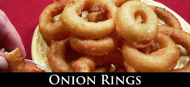 Onion Rings, slider.