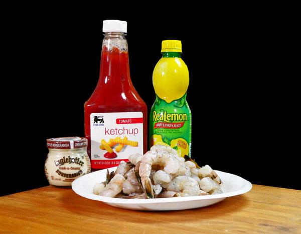 Shrimp Cocktail, ingredients.