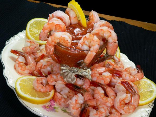 Shrimp Cocktail, enjoy.