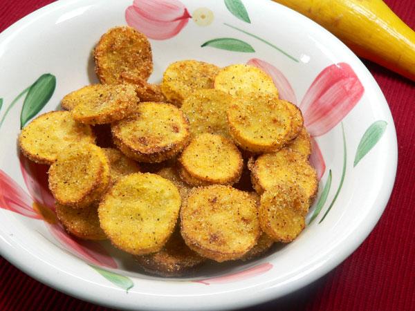 Fried Squash, enjoy!