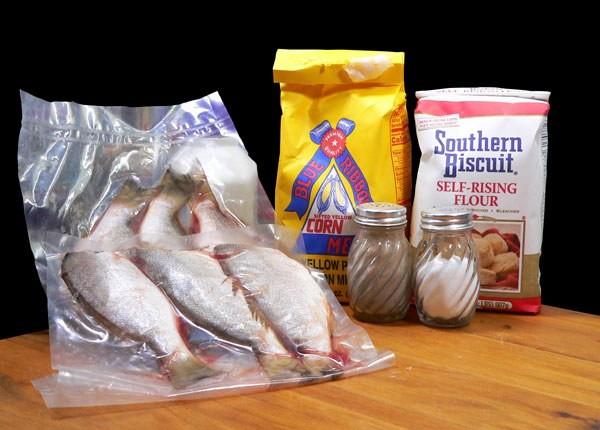 Pan Fried Spots, ingredients.