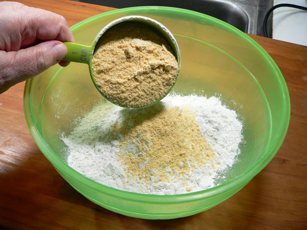 Pan Fried Spots, add cornmeal.