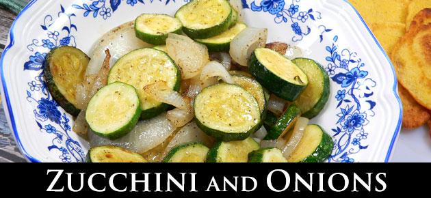 Zucchini and Onions, slider.